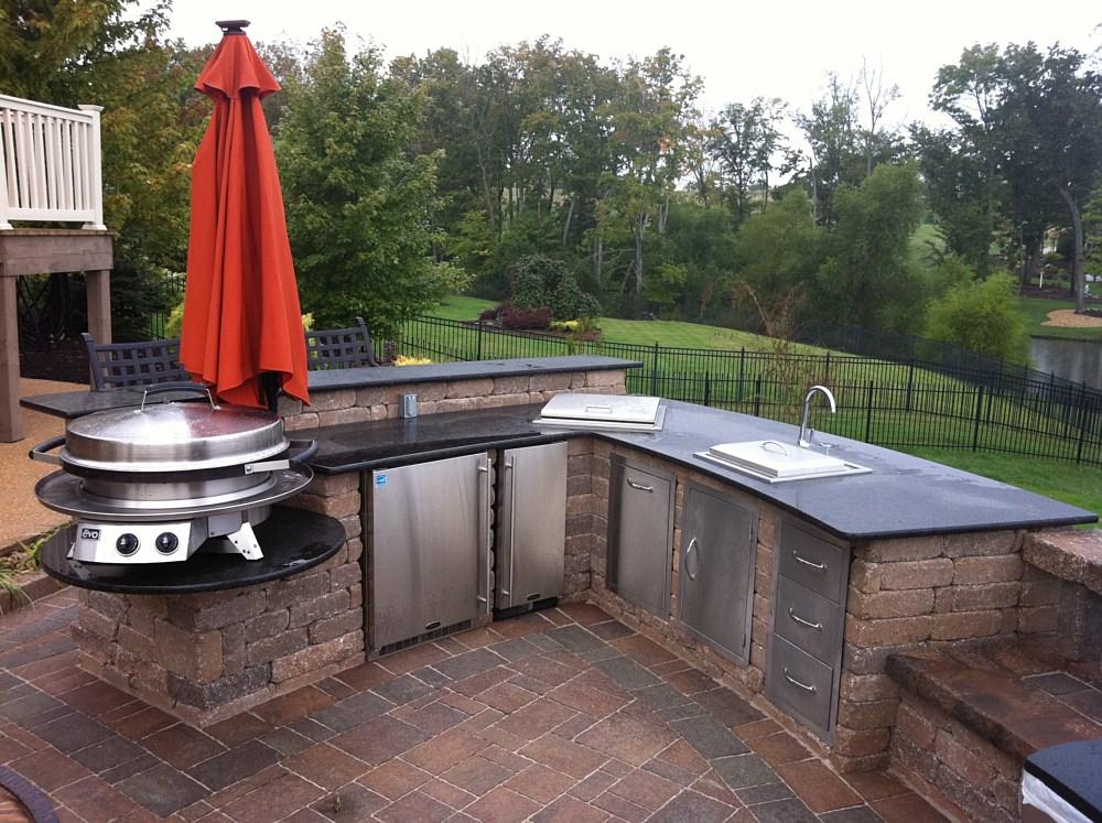 outdoor kitchens fireplaces washington missouri mo. Black Bedroom Furniture Sets. Home Design Ideas