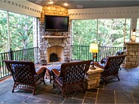 Outdoor Kitchens, Fireplaces & Pits